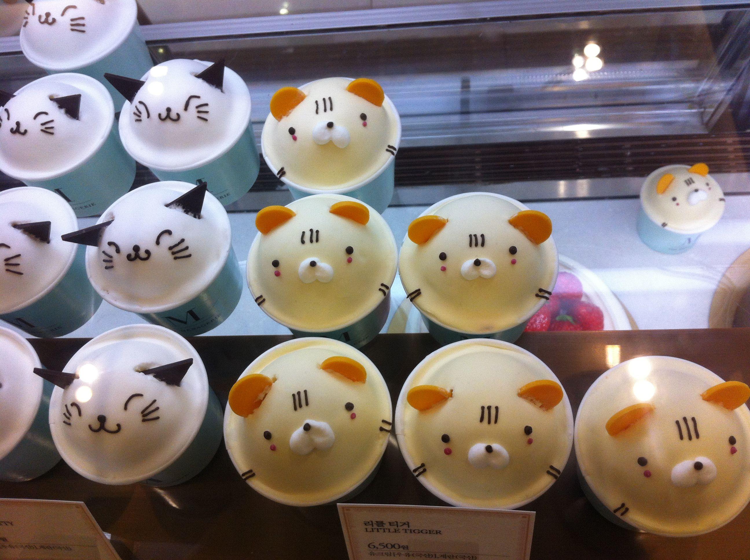 Cute cupcake !!!  I don't want eat !!!