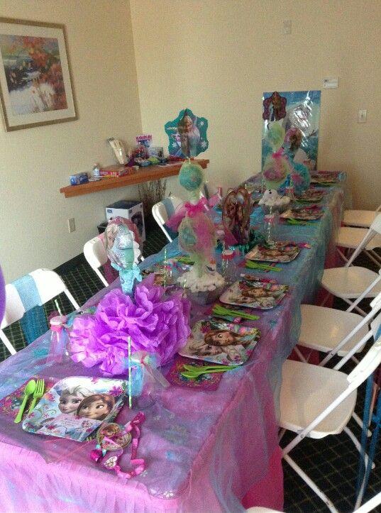 Frozen Theme Hotel Sleepover Slumber Parties Frozen Party Kids Birthday