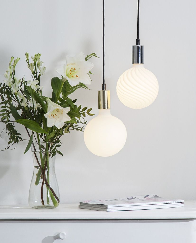 6w 610lm 2700k 150mm E27 Led Filament Opal Globepaere Dimbar Designbelysning No Lyspaerer Lamper Farget Glass