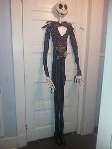 disneys nightmare before christmas 6 ft jack skellington halloween decoration ebay - Ebay Halloween Decorations