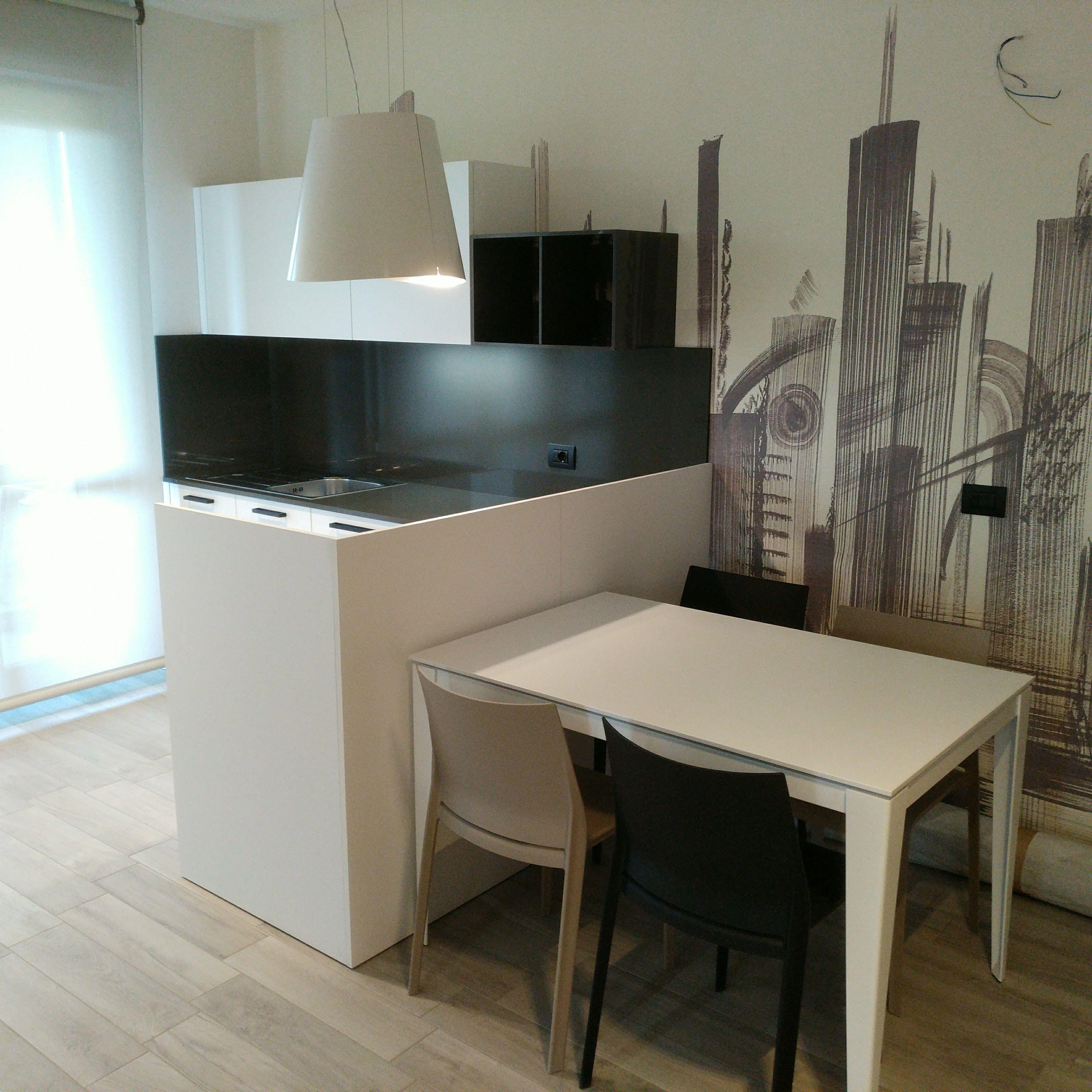 Cucina Kalì by Arredo3 Sedie modello Riga di #Desalto Tavolo Dom ...