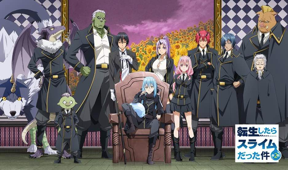 That Time I Got Reincarnated As A Slime Anime Season 2 To Premiere On January 5 Anime Slime Season 2 Cute Drawings