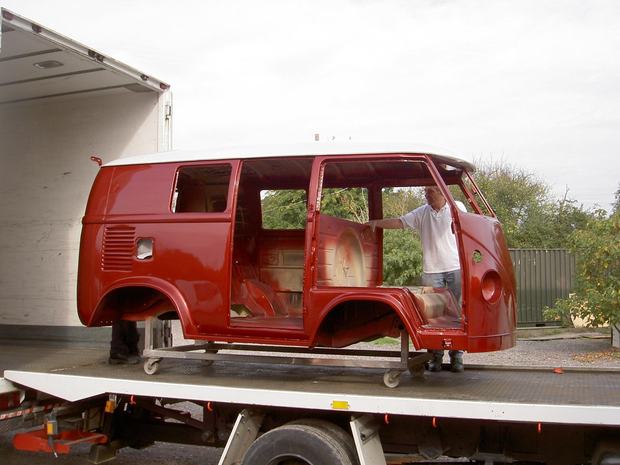 Shorty VW bodyshell | auto | Vw bus, Vans, Volkswagen