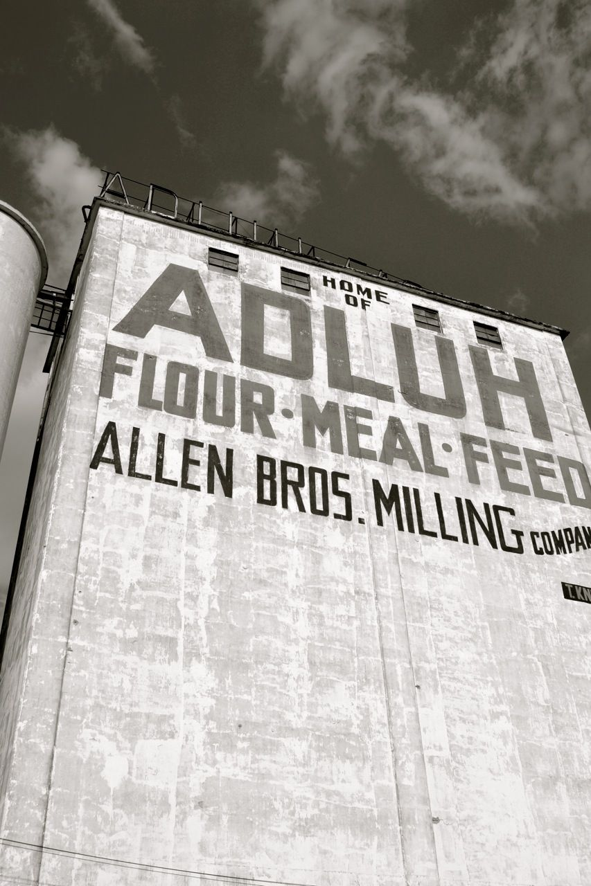 Adluh Flour Mill Columbia South Carolina Photographed By