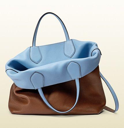 246c668f22 ramblebag #gucci borsa shopping reversibile gucci ramble in pelle ...