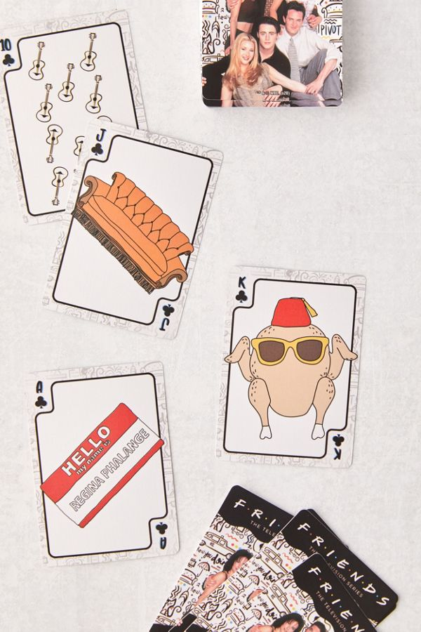 Friends Playing Card Deck Urban Outfitters Playing Cards Art Playing Cards Design Playing Card Deck