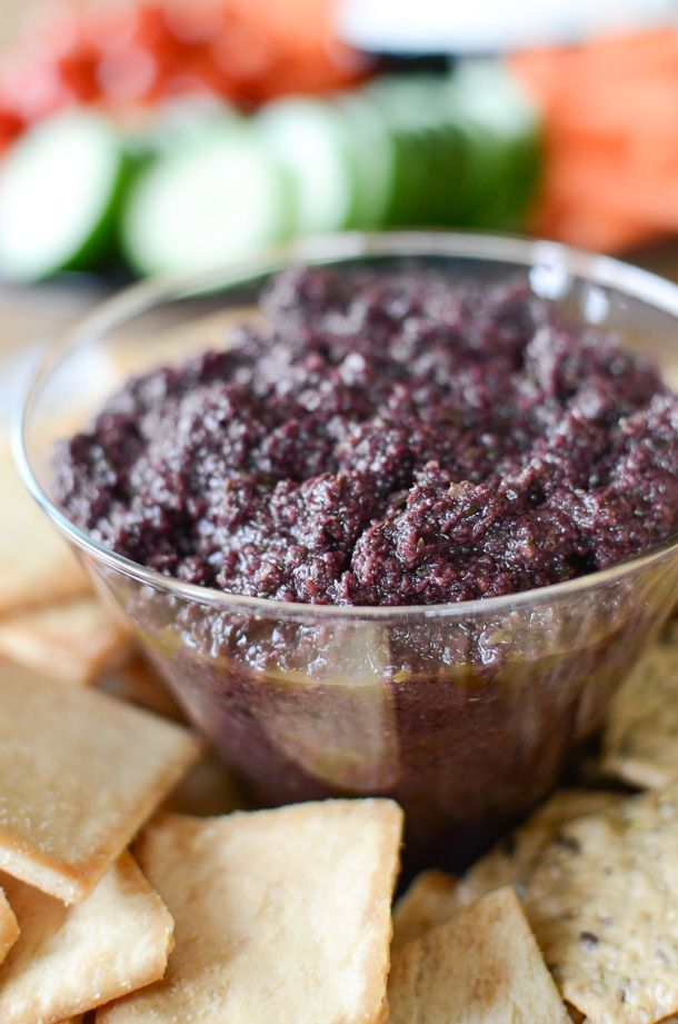 Easy Olive Tapenade | Tapenade Recipe | simplywhisked.com