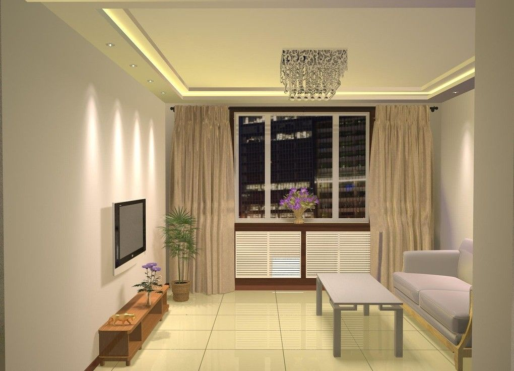 Simple Design For Small Living Room | 3D House, Free 3D House ...