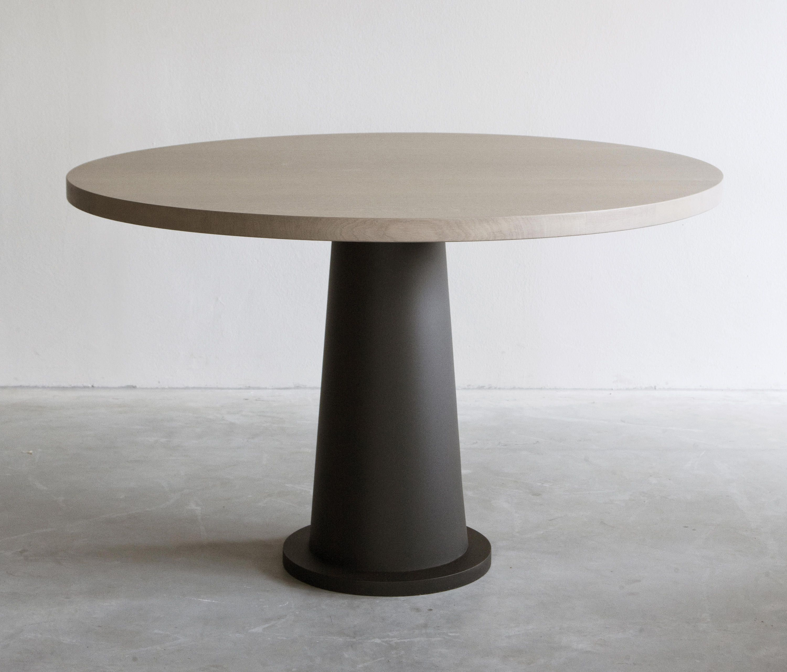 Kops Dining Table Round Metal Base Designer Dining Tables From