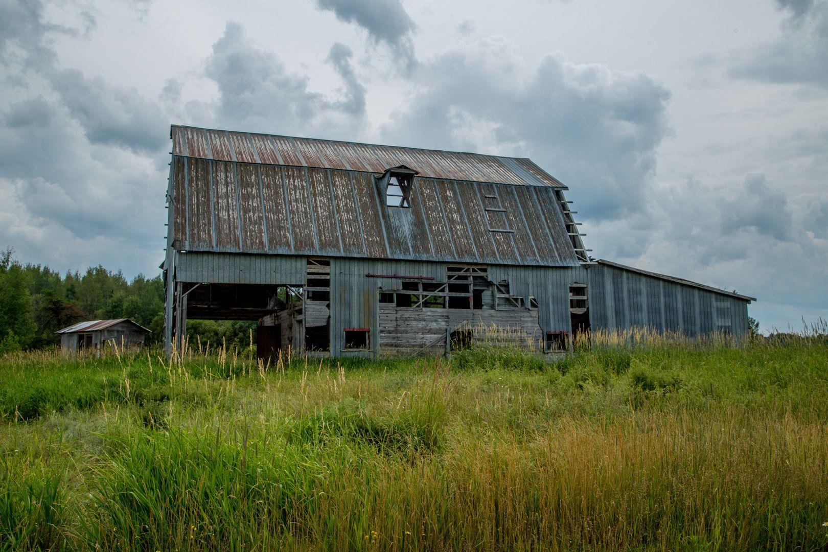 Bâtiments abandonnés - Créativité photo