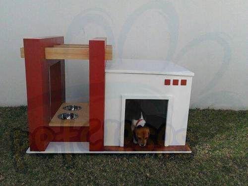 Casa Moderna Para Perros Mediana Modelo Cancn