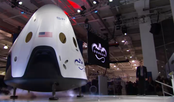 Spacex Reveals The Dragon V2 A Safer Smarter Space Ferry Spacex Spacex Dragon Spacecraft