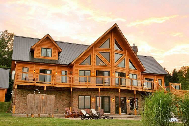 Why Timber Block Chapter 1 An In Depth Look At Timber Block S Panelized Building System Log Homes House In The Woods Building A House