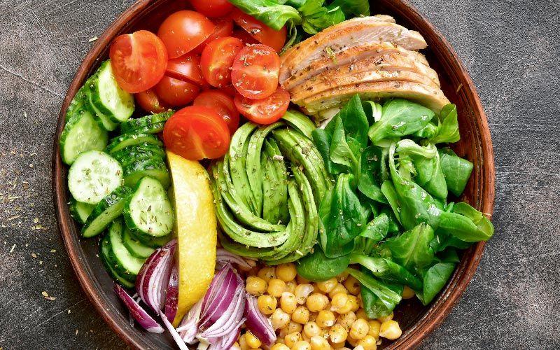 Proteinreiche Ernährung zur Mast