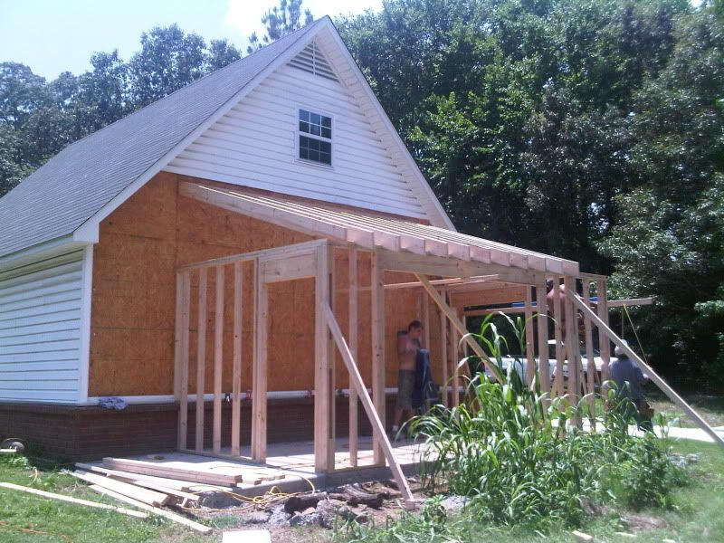 My Quot Lean To Quot Addition Finally Pic Heavy The Garage Journal Board Curved Pergola Backyard Sheds Lean To