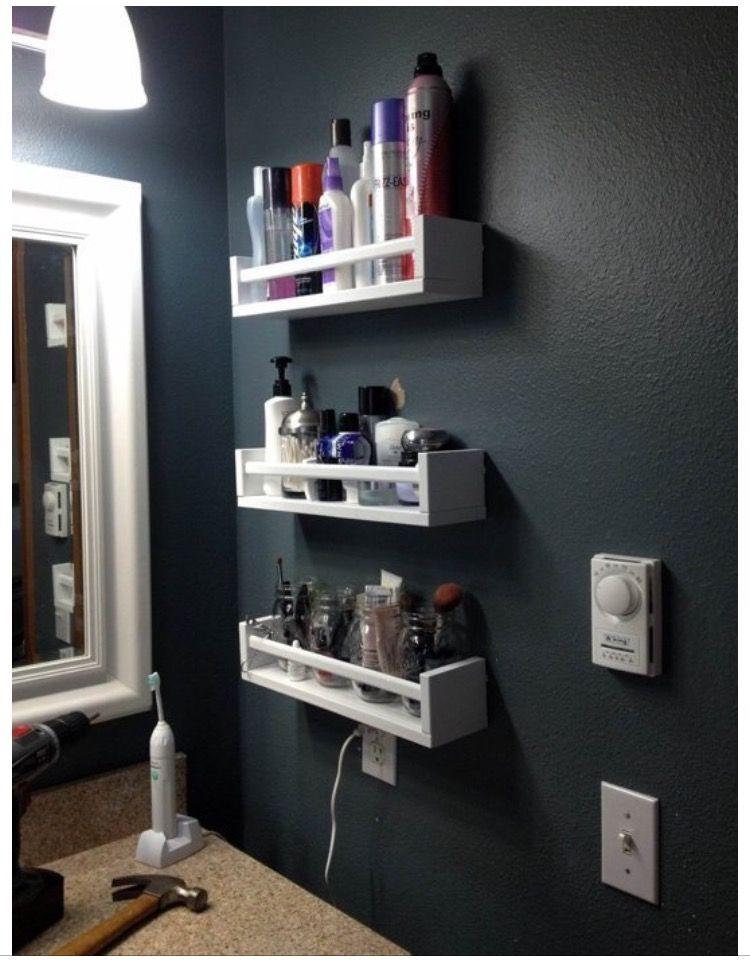 Interiors Small Bathroom StorageIdeas Pin