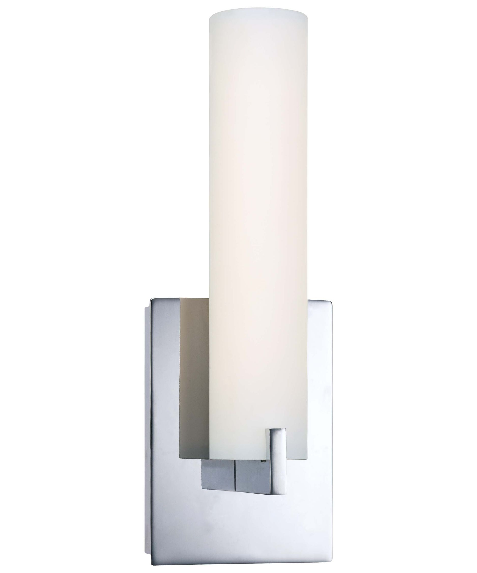 Charming Tube Chrome LED Wall Sconce W/Etched Opal Glass George Kovacs Specialty  Wall Sconces Wall I Wonder If This One Is Better Than Loft LED Bath Bar By  Modern ...