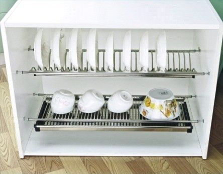 Dish Drying Rack Drainers : Kitchen Dish Racks : Over Sink