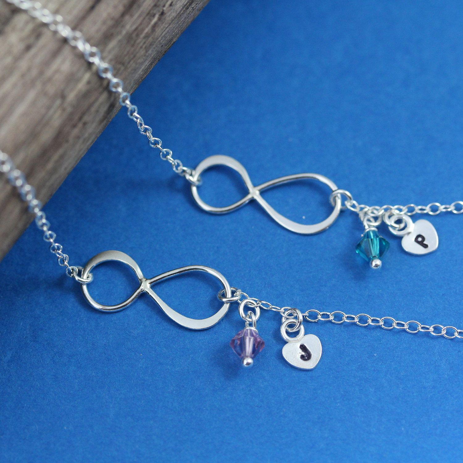 for in necklace the from to infinity mother mom wedding gift bride media daughter law pearl groom of card