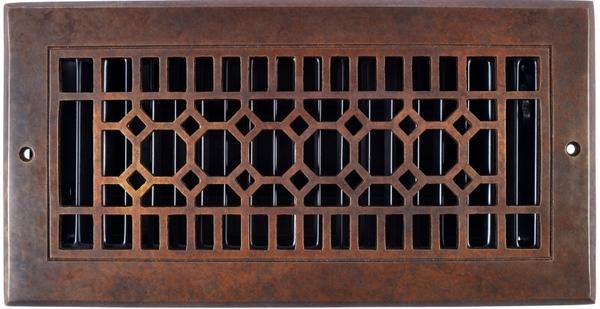 Octagon Solid Bronze Registers & Air Returns in 2020 Air