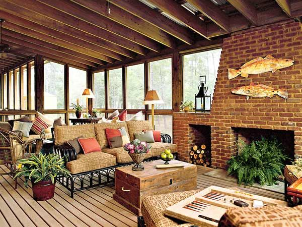 screened+in+porch+decorating+ideas   Screened Porch: West Bay Idea ...