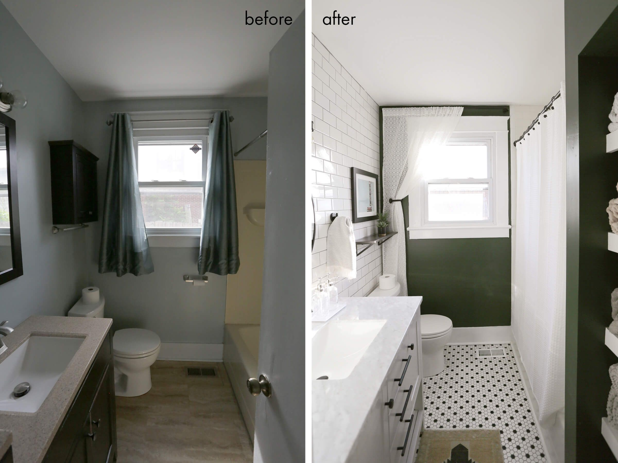 Elsiesnashvillebnb Bathroom Tour Before After With Images