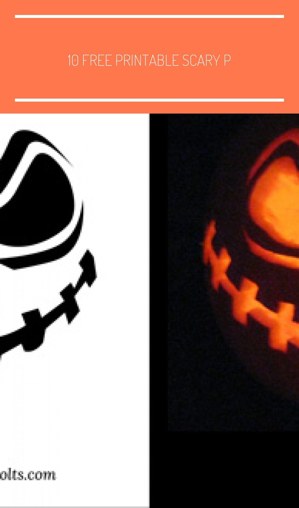 10 Free Printable Scary P Scary Pumpkin Carving Patterns Carving Designs Scary Pumpkin Carving