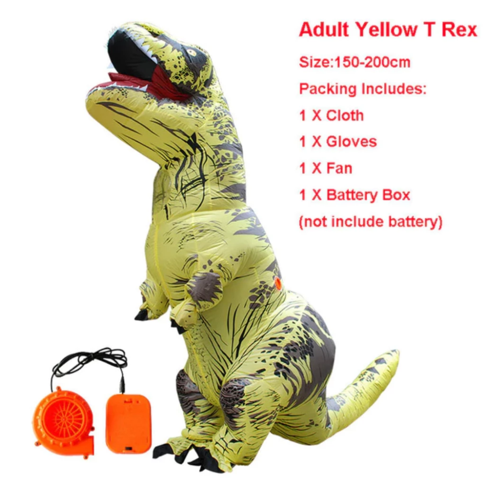 Inflatable Dinosaur Costumes For Adults Halloween
