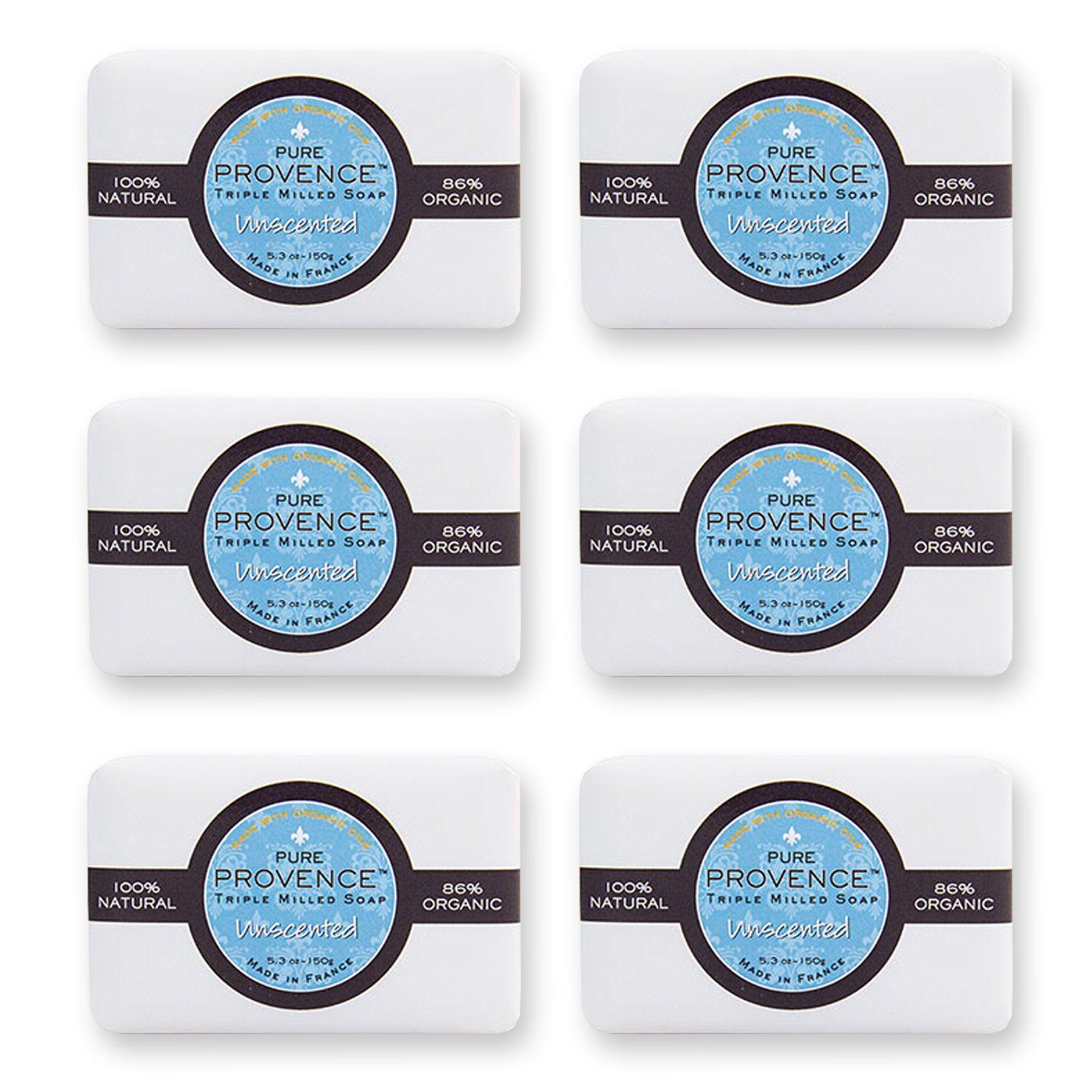 Pure provence certified organic triple milled soap shea butter pure provence certified organic triple milled soap shea butter fragrance free soaps sensitive 1betcityfo Choice Image