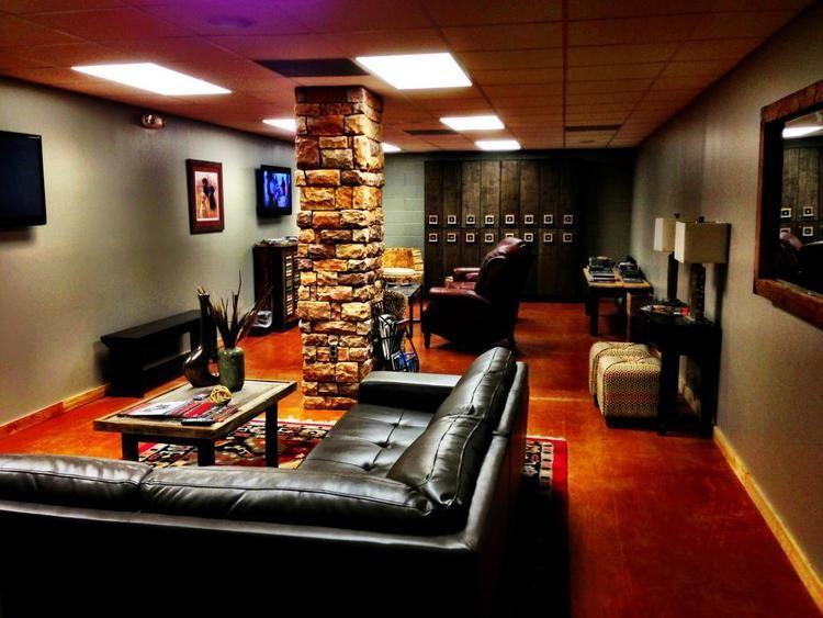 majestic home indoor shooting range design. lounge light jpg Modern Outfitters Indoor Shooting Range Members Lounge