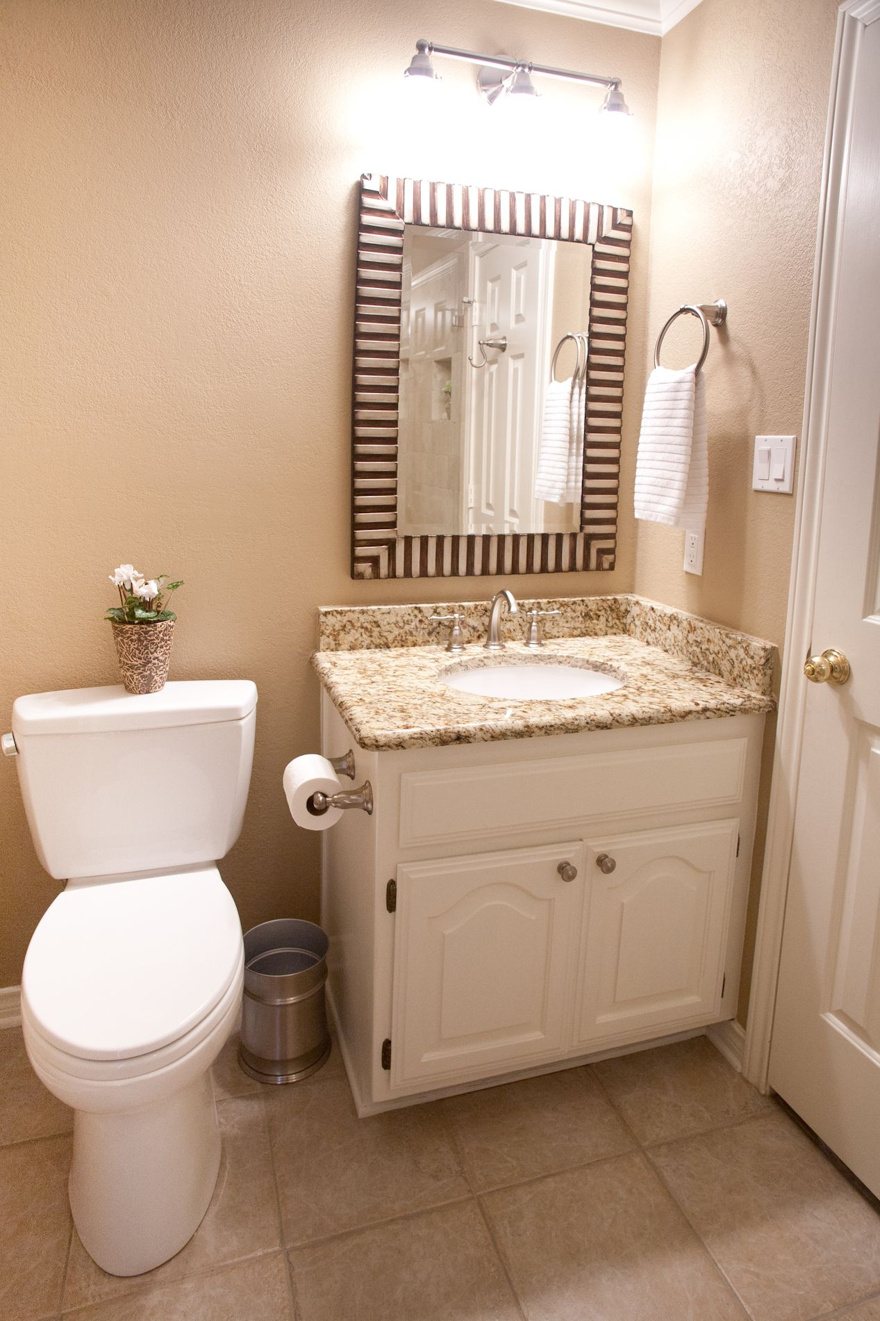 Toto sink | Kohler Kelston faucet in brushed nickel | Carrollton ...