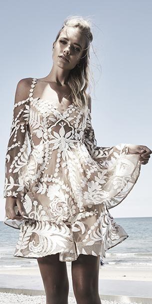 Thurley Poppy Fields Dress