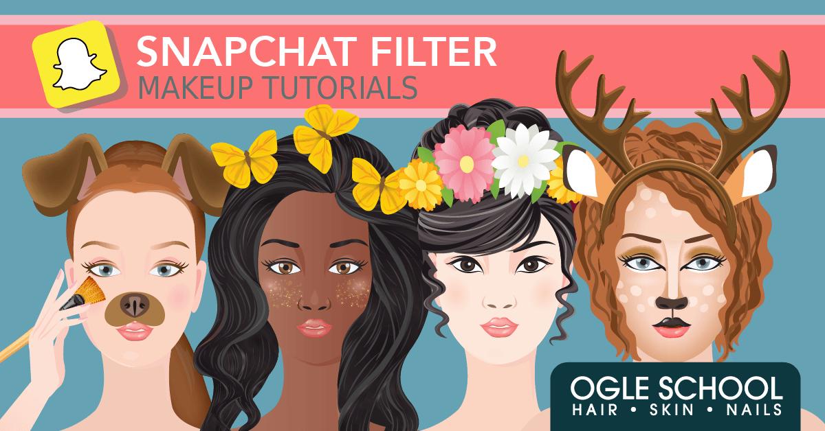 Snapchat Filter Makeup Tutorials Snapchat filter makeup