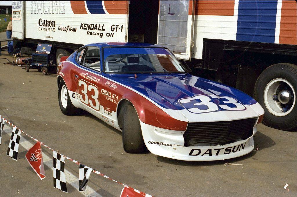 Bob Sharpe C Production Datsun 280z at Road Atlanta
