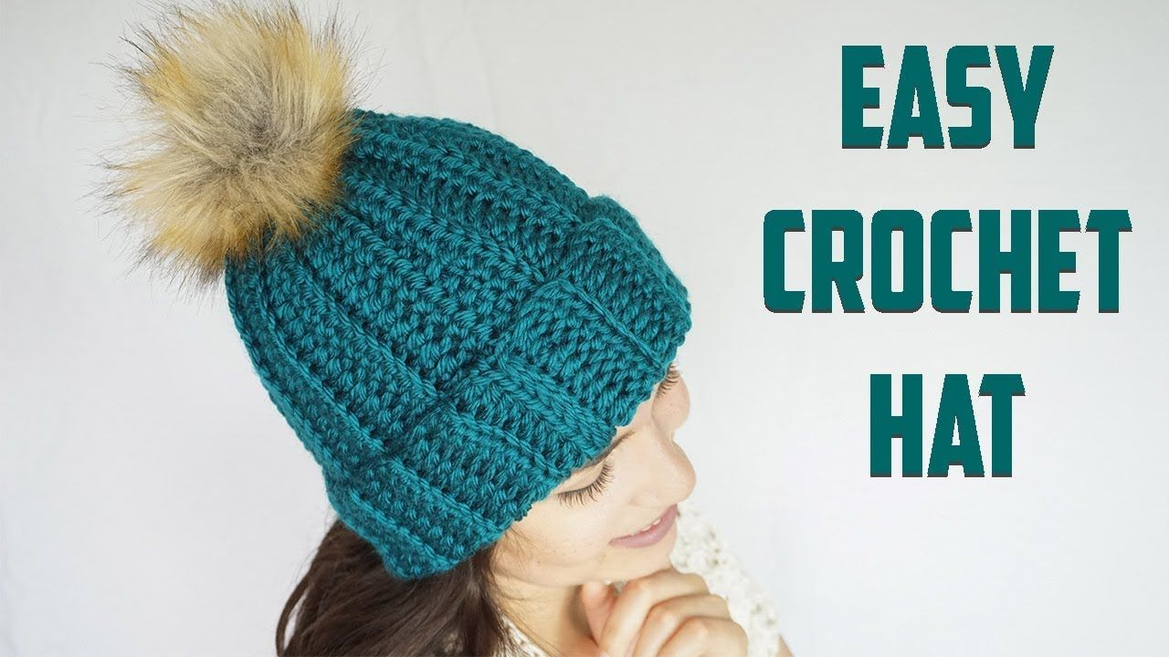The Costa Crochet Hat Cj Design Youtube Easy Crochet Hat Crochet Hats Crochet