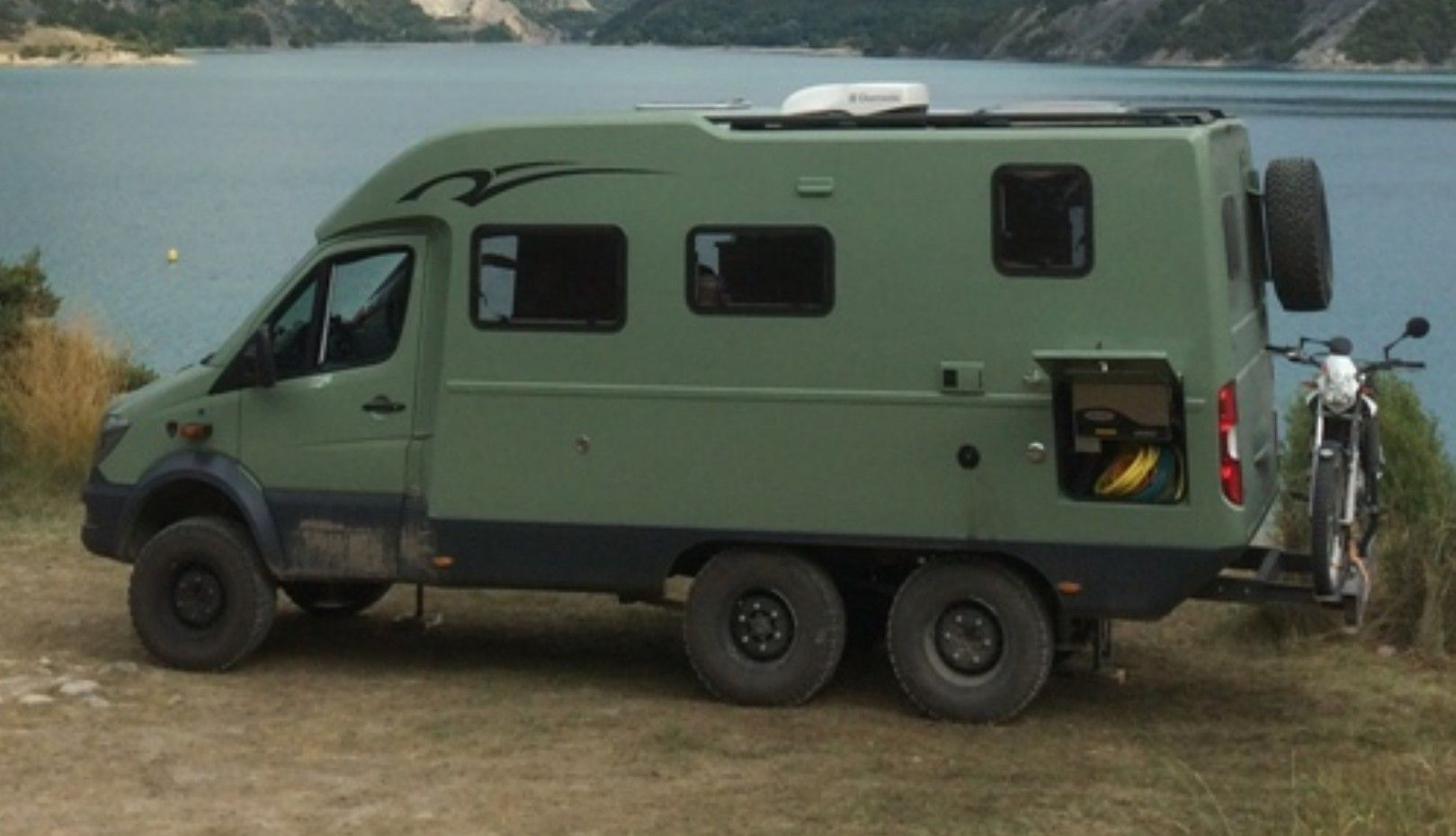 sprinter 6x6 3c cartier camper mercedes van 4x4 van et truck camper. Black Bedroom Furniture Sets. Home Design Ideas