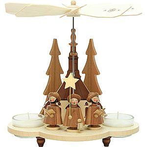 1 st ckige pyramide kurrende natur 19 5 cm. Black Bedroom Furniture Sets. Home Design Ideas
