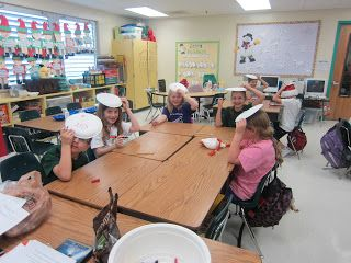 Christmas Game Hold A Paper Plate On Their Head And Follow Directions To Draw A Christmas Scene Kids Party Games School Christmas Party Holiday Party Games