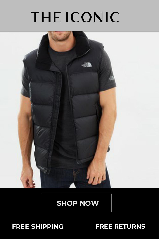 Men's Nuptse Vest   Mens jackets, Men's coats & jackets, North face mens