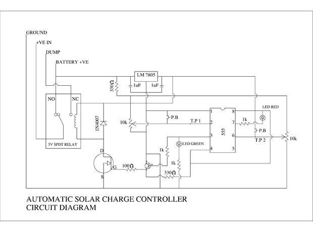DIY AUTOMATIC SOLAR CHARGE CONTROLLER #radiocontrol ...