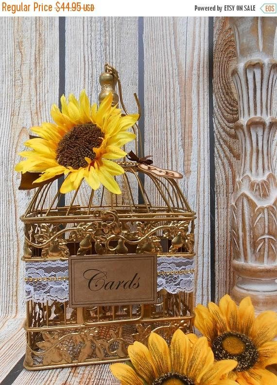 13 Off CLEARANCE SALE Small Gold Sunflower Wedding