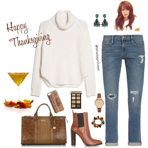 """""""Thanksgiving Day"""" by whatsagirl2wear on Polyvore"""