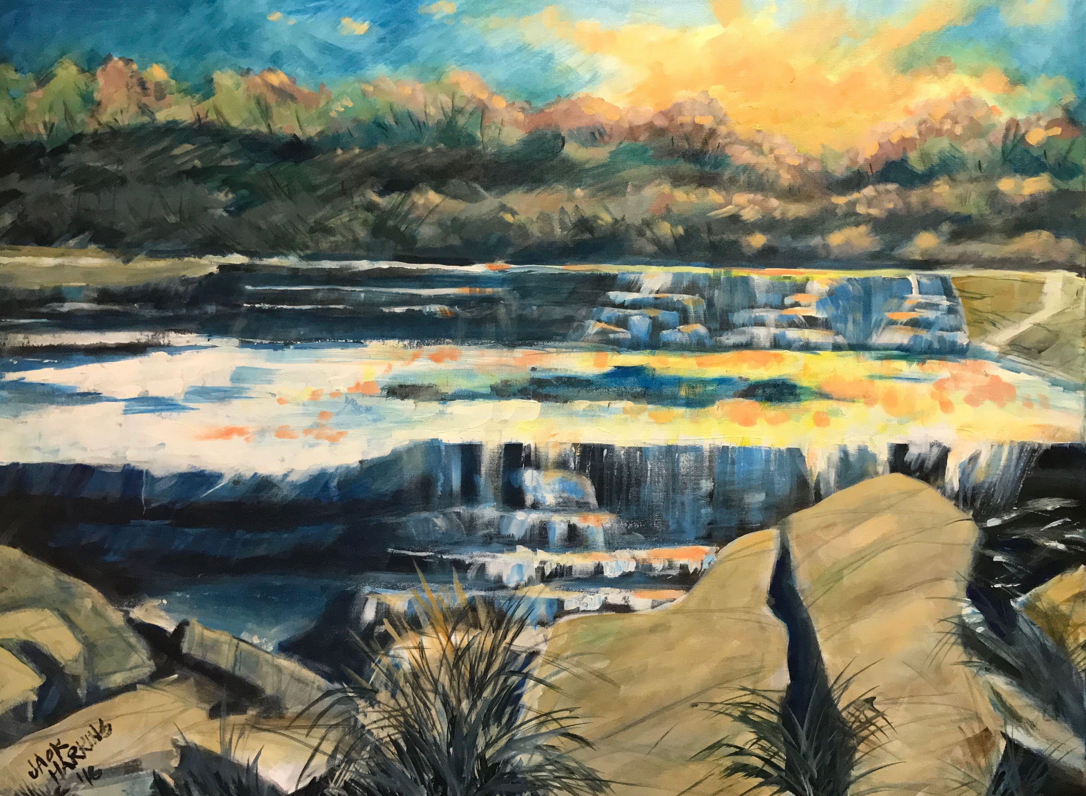 Brazos Waterfall