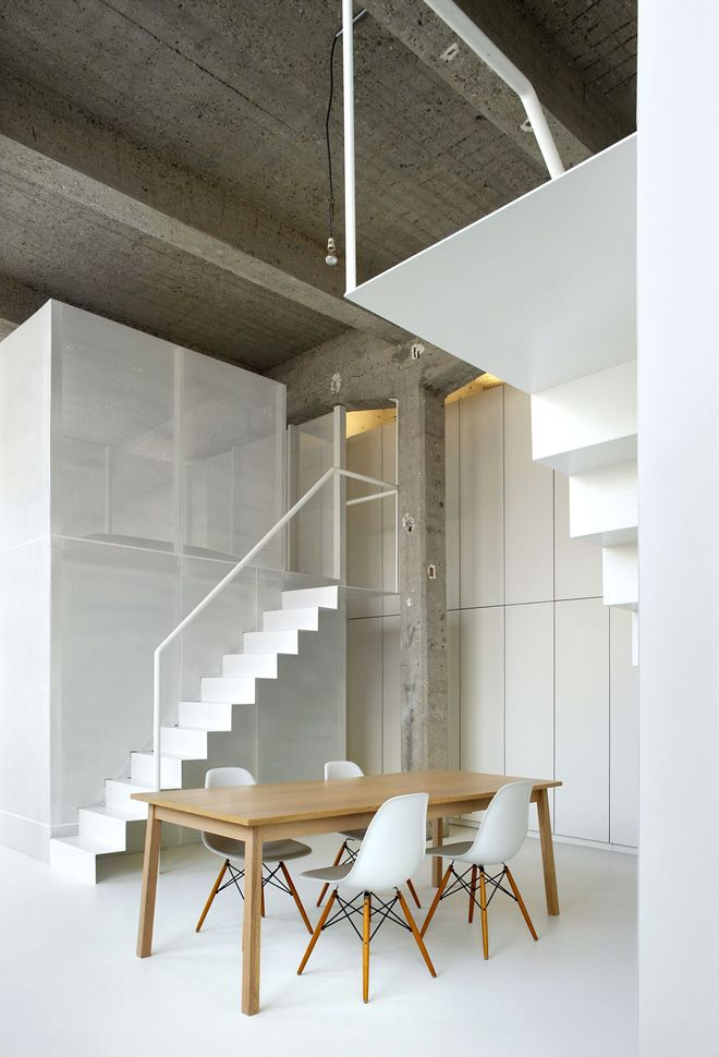 Loft FOR in Brussels by adn Architectures
