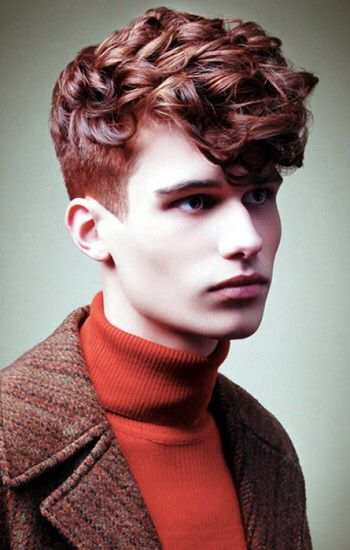 Semmen Men S Curly Hairstyles Red Hair Men Hairstyles Haircuts