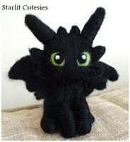 Toothless felted