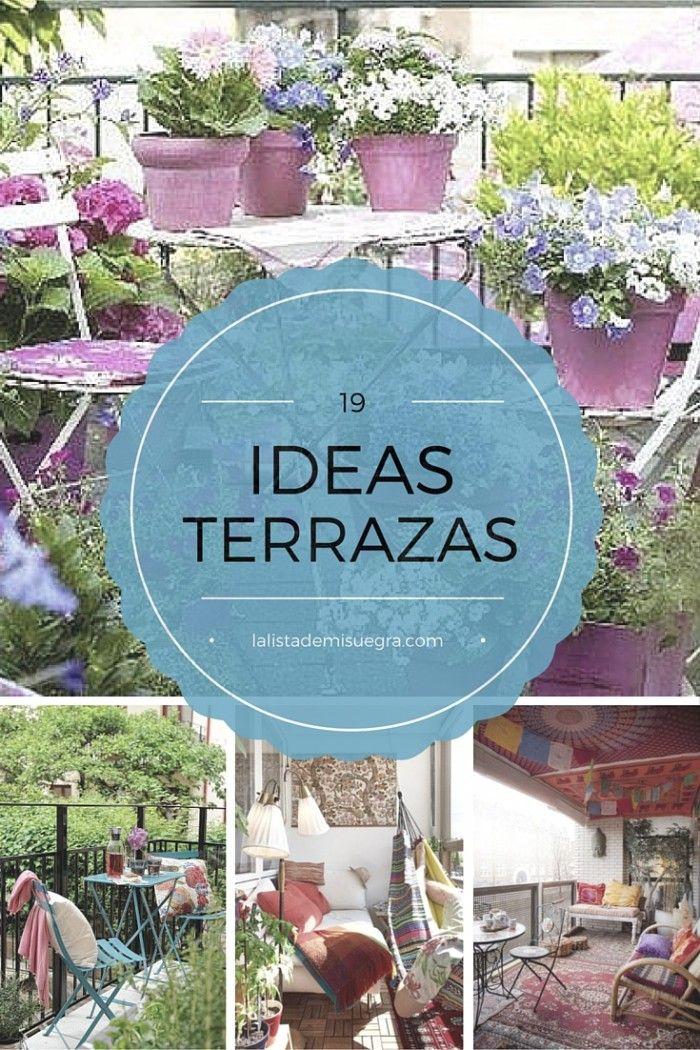 19 ideas para decorar una terraza peque a la lista de mi - Ideas para decorar una terraza ...