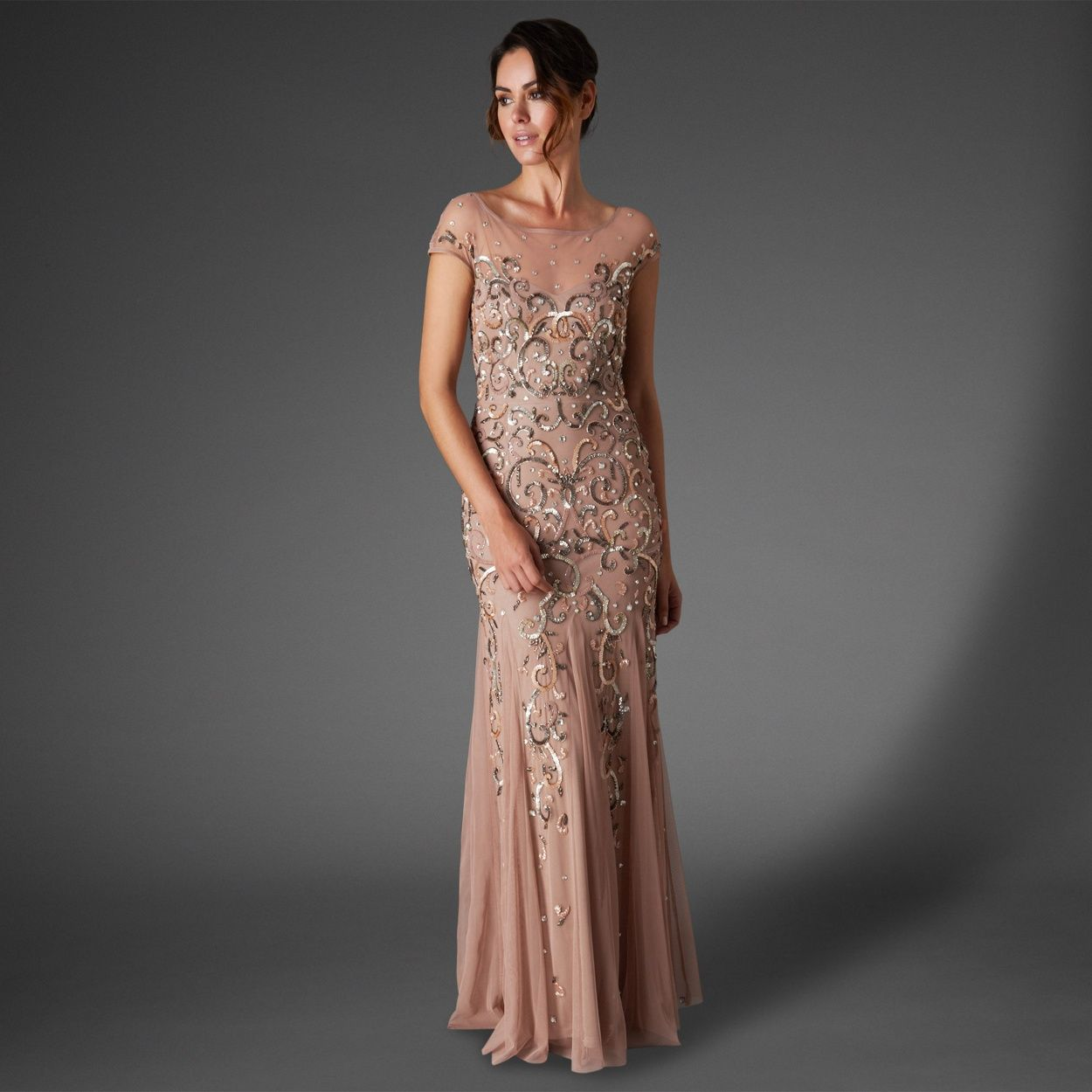 Phase eight blush nina sequin jewelled dress at debenhams phase eight blush nina sequin jewelled dress at debenhams full length dressesdebenhamsbridal ombrellifo Gallery