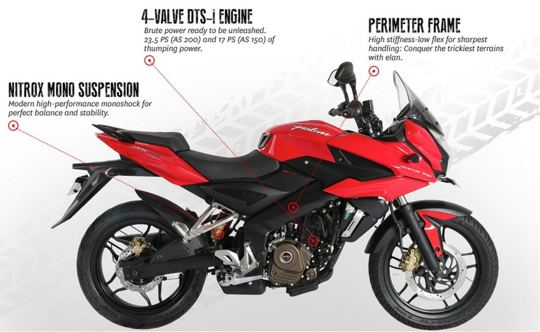 Bajaj Pulsar AS 200 bike adventure