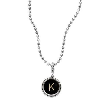 Look what I found at UncommonGoods: Typewriter Key Necklace for $66 #uncommongoods